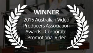 2015 AVPA Award Winner Video Production Perth