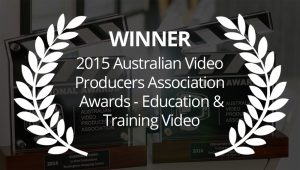 2015 AVPA Award Winner Training Video Production Perth